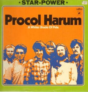Song of the day: Procol Harum- A Whiter Shade Of Pale
