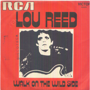 Song of the day: Lou Reed- Walk On The Wild Side